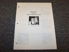 Case 1.4-61-00 Gearbox Disassembly Service Repair Manual for VVW1700 Roller