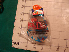 VINTAGE sealed LATEX SQUEEZE TOY, dolax, brown mouse in bag SEALED UNUSED 1968