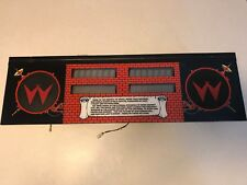 Williams BIG GUNS Pinball Speaker and Alphanumeric Scoring Display