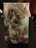 Dragon Ball Z SCultures Big Super Saiyan 3 Son Gokou unpainted version