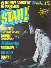 TEEN'S STAR magazine No.4  DONNY OSMOND  Michael Jackson 5  NO POSTERS!!!