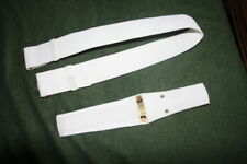 UK ARMY PARADE BELT AND SCABBARD FOR SA 80 ASSOULT RIFLE