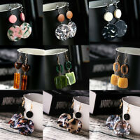 Women Boho Geometric Round Dangle Drop Hook Ear Stud Earrings Party Jewelry New