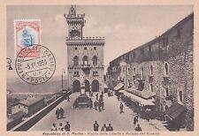 REPUBBLICA DI S. MARINO - Piazza della Libertà e Palazzo del Governo 1919