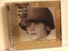 U2 THE BEST OF 1980-1990 2CD SPECIAL EDITION W B SIDES BONUS DISC BRAND NEW ITEM