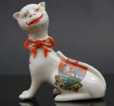 Vintage Crested Ware Arcadian Tenby Cheshire Cat The smile that won't come off