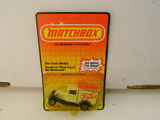 1983 MATCHBOX SUPERFAST MB38 #38 PEPSI-COLA FORD MODEL A TRUCK NEW ON CARD
