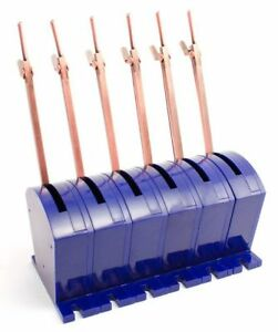 DCC Concepts - DCP-CBS6 COBALT-S (6 Pack) Point Switch Lever - Tracked 48 Post