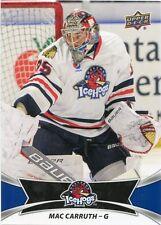 16/17 UPPER DECK AHL #10 MAC CARRUTH ROCKFORD ICEHOGS *30931