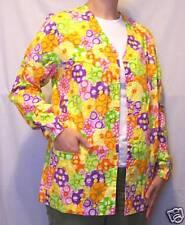 Parasols Warm-Up Jacket - M 100% Cotton Multi-Color Women MAS