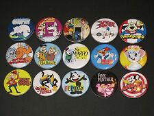 60's Cartoons Buttons/ Pins 15