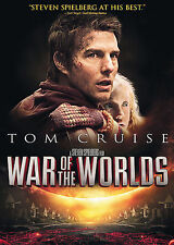 """War of the Worlds"" Sci-Fi Movie starring Tom Cruise & Dakota Fanning on Dvd"