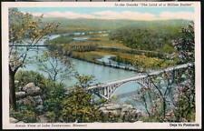 LAKE TANEYCOMO MO Vtg Aerial US Hwy 65 Bridge Postcard