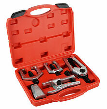 Front End Service Tool Kit Ball Joint Tie Rod Set Pitman Arm Puller Remover 5pcs