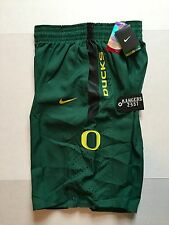 Nike Dri-Fit Men's Oregon Ducks Basketball Green Shorts Authentic Size L