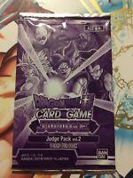 Dragon Ball Super Card Game Sealed Judge Pack Vol.2