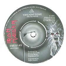 "Iron Maiden - Twilight Zone  - 7"" Vinyl Record Single"