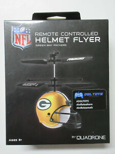 NFL Remote Controlled Helmet Flyer Green Bay Packers