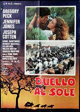 CINEMA-soggettone DUELLO AL SOLE g. peck,j. jones