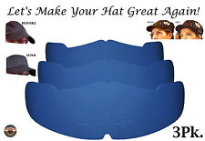 Low Profile Caps Crown Inserts, Hat Shaper, Brim Hat Liner, Hat Storage Aide New