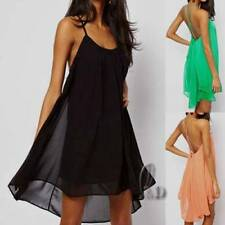 Clubwear Short Sleeve Dresses Backless