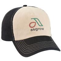 Asgrow Vintage Trucker Trademark Logo Cap Hat New Ballcap Soy Bean Soybean New