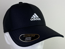 Adidas Youth Decision Cap Adjustable Fit Black/White Aero Ready 5146768