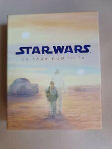 Blu ray Star Wars la saga completa cofanetto (Raro e molto ricercato)