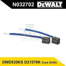 Dewalt Dwd530ks D21570k Carbon Brushes N032702 Hammer Core Drills 240v