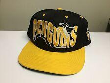 Vintage Pittsburgh Penguins G-cap Wave Snapback Hat Cap Nhl Starter Pens Crosby