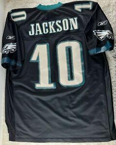 NFL Jersey Philadelphia Eagles DeSean Jackson #10 SIZE 2XL Reebok +2 Length (M)