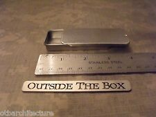 "Emergency/Survival Sliding Top Tin/Container  -  3 1/8"" x 1 1/4"""" x 7/16"" MEDIUM"