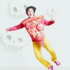 "Hyde & Eek Pepperoni Pizza Costume One Size Adult & Kids Two Sided 22"" x 32"""