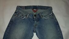 "WOMEN'S Lucky Pants Jeans Denim Sz 0/25 x 31"" inseam boot Regular VTG EUC"