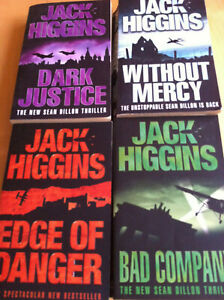 Jack Higgins Sean Dillon Bad Company Without Mercy Edge of Danger Dark Justice