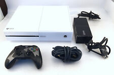 Microsoft XBOX One I Made This Limited Employee Edition White Console