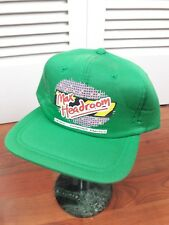 Max Headroom Embroidered Hat - Rare -