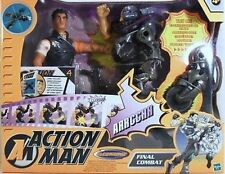 "ACTION MAN - ""FINAL COMBAT"" - 2 personaggi-ORIGINALE HASBRO 2003-elettronico"