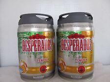 Desperados Bier mit Tequilla 2 x 5 Liter Partyfass incl. Zapfhahn