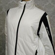Ziener Primaloft Ski Jacket Size 50 Womens L Juneau Technical Freeride White