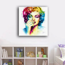 60×60×3cm Framed Canvas Prints Marilyn Monroe Smoking Wall Art Home Decor