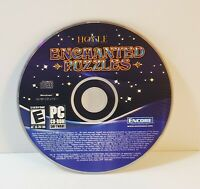 Hoyle Enchanted Puzzles PC 2008 CD-ROM windows game compilation free shipping