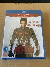 Ant-Man 3D Blu ray + 2D Blu ray (2 Disc) New & Sealed Marvel Avengers Paul Rudd