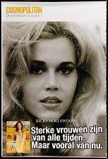 "HUGE Original RARE JANE FONDA GISELE BUNDCHEN Dutch Bus Shelter Poster 47""X70"""