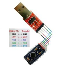 USB TO TTL 232 RS232 UART Serial Port CH340 for Arduino Win10 Linux Mac