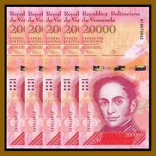 Venezuela 20000 Bolivares x 5 pcs Set, 2016-2017 P-New Unc