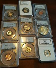 50% DISCOUNT SUPER SLAB SALE NGC AND PCGS GRADED 1946-DATE COINS WOW WOW!
