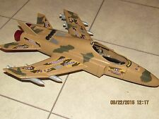 """2004 TOY CENTURY INDUSTRIES AIR FORCE JET FOR GI JOE? 3.75""""  - LIGHTS, SOUNDS"""
