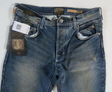 Third & Army Men Jeans 31 X 32 Relaxed Engineer MD INDIGO Distressed New w/ Tags