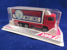 Vintage Majorette - Container Truck Lorry - West Lines - 265 - Brand New